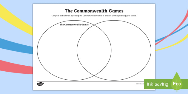 New The Commonwealth Games Venn Diagram Activity Sheet