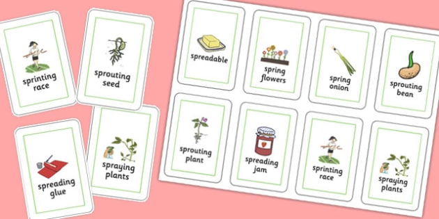 Three Syllable SPR Playing Cards - sen, sound, spr sound, spr, three syllable, playing cards