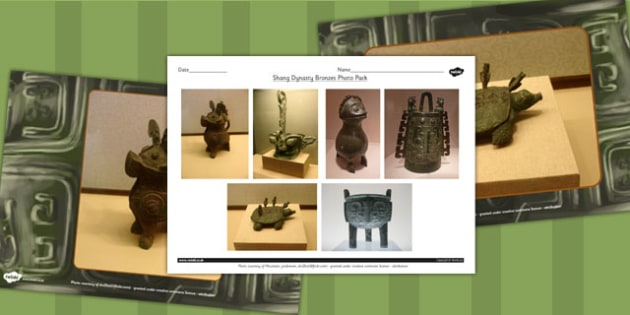 Shang Dynasty Bronzes Photo Pack - Photo, Shang, Dynasty, China