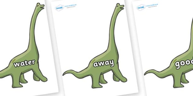 Next 200 Common Words on Brachiosaurus - Next 200 Common Words on  - DfES Letters and Sounds, Letters and Sounds, Letters and sounds words, Common words, 200 common words