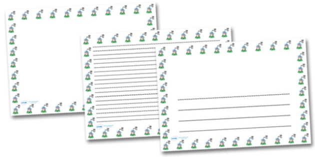 Wash Hands Landscape Page Borders- Landscape Page Borders - Page border, border, writing template, writing aid, writing frame, a4 border, template, templates, landscape