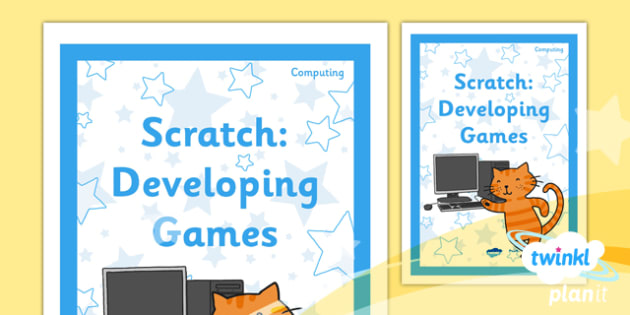 Computing: Scratch Year 5 Unit Book Cover