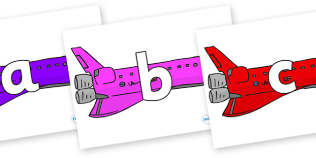 Phoneme Set on Jets - Phoneme set, phonemes, phoneme, Letters and Sounds, DfES, display, Phase 1, Phase 2, Phase 3, Phase 5, Foundation, Literacy