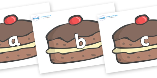 Phase 2 Phonemes on Chocolate Buns - Phonemes, phoneme, Phase 2, Phase two, Foundation, Literacy, Letters and Sounds, DfES, display