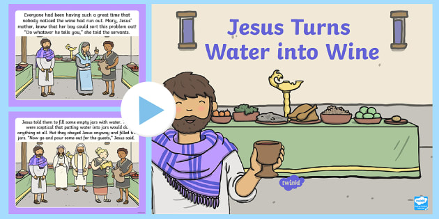 Free Jesus Turns Water Into Wine Coloring Pages, Download Free ... | 315x630