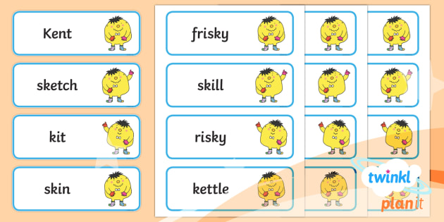 PlanIt English Year 1 Term 2B Spelling Word Cards - Spellings Year 1, Term 2B, word cards, ks1, y1, spring term, writing, literacy, spellings, english