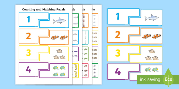 Great Barrier Reef Counting Puzzle - australia, barrier, reef