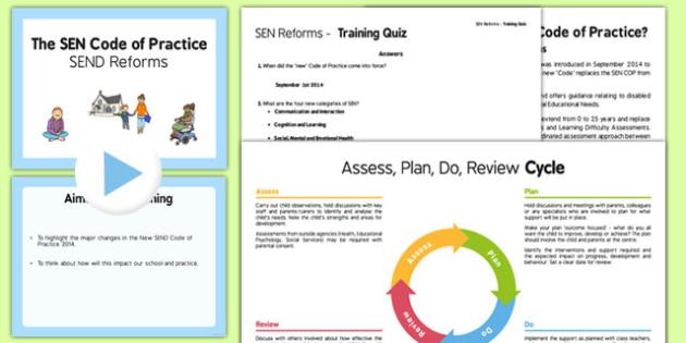 SEN Reforms Training Pack Primary - sen reforms, training, pack, primary