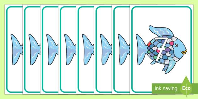 el pez arcoiris números de exposición