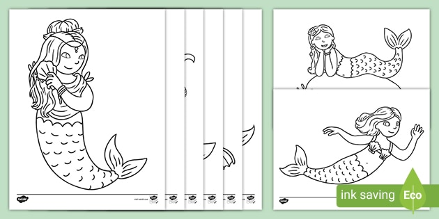 Free Mako Mermaids Coloring Pages, Download Free Clip Art, Free ... | 315x630
