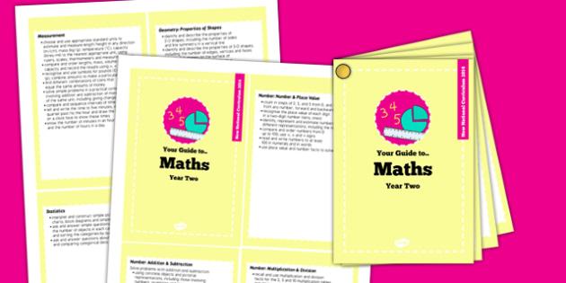 2014 National Curriculum Cards Year 2 Maths - new curriculum, plans, card