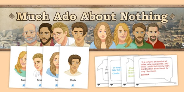 Much Ado About Nothing Display Pack - nuch ado about nothing, display, pack