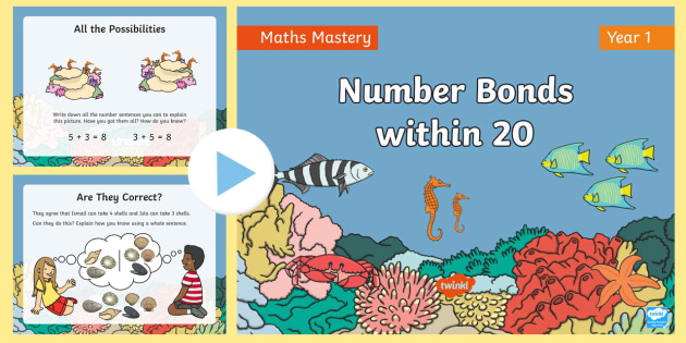 NEW * Year 1 Number Bonds within 20 Addition and Subtraction