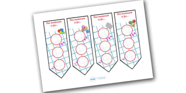 Numeracy Themed Sticker Reward Bookmark 30mm - bookmarks, bookmark, reward bookmark, numeracy reward bookmark, numeracy sticker bookmark, numeracy, 30mm