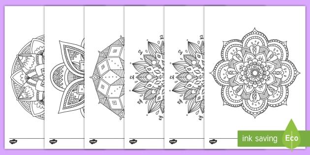 New Mandala Ausmalbilder Zur Besinnung Ausmalbild Mandala