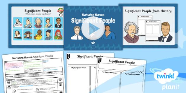 History: Nurturing Nurses: Significant People KS1 Lesson Pack 1