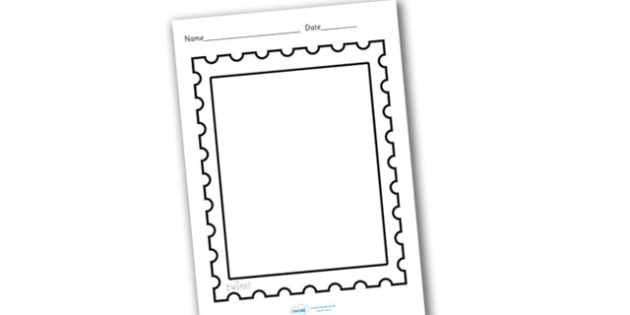 Design a post office stamp design a stamp design make your for Company stamp template