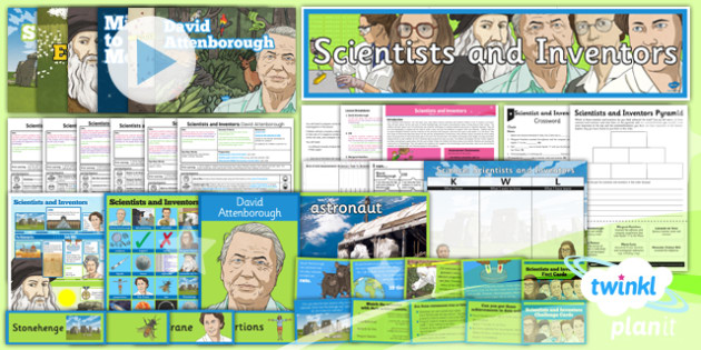 Science: Scientists and Inventors Year 5 Unit Pack