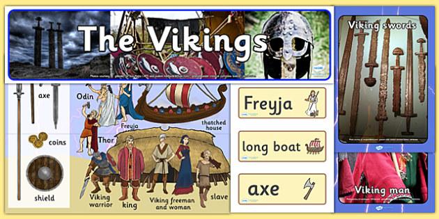 Ready Made Vikings Display Pack - ready made, viking, display