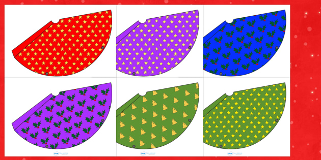 Christmas Party Hats  Christmas Xmas Party Hat Hat Template