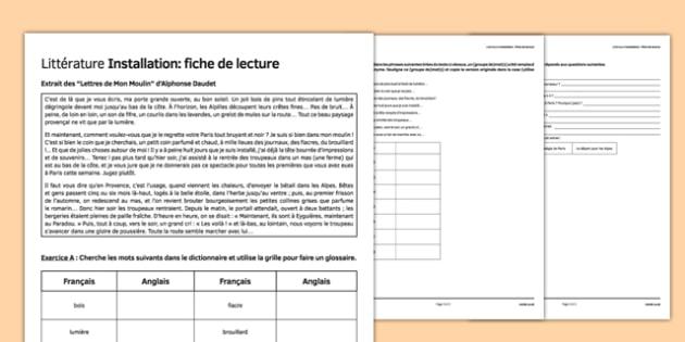 Alphonse Daudet Les Lettres de Mon Moulin Literature - french, Literature, Daudet, Story, Chèvre, goat
