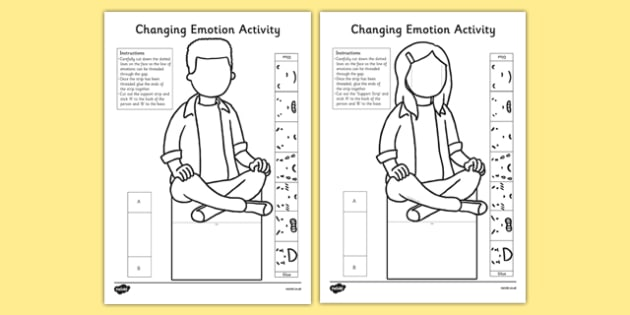 Changing Emotion Activity - changing emotion, activity, change, emotion
