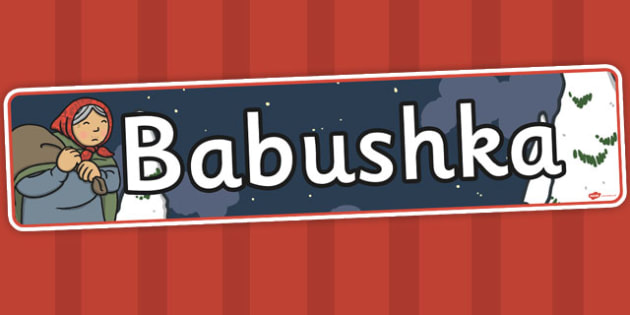 Babushka Display Banner - babushka, display banner, banner, story