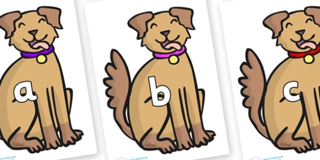 Phase 2 Phonemes on Dog - Phonemes, phoneme, Phase 2, Phase two, Foundation, Literacy, Letters and Sounds, DfES, display