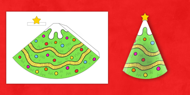 Christmas Tree Cone Model - christmas tree, cone, model, christmas, tree