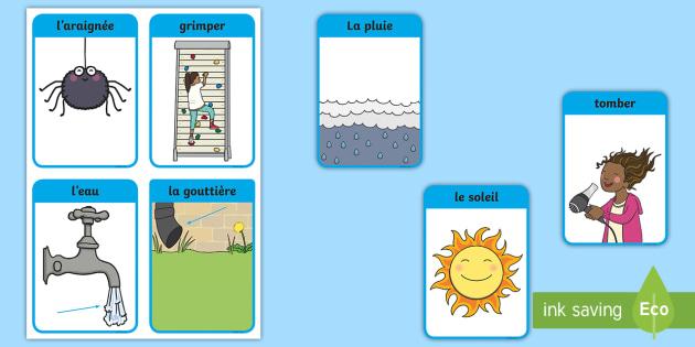 flashcards   vocabulaire  u0026quot l u0026 39 araign u00e9e gipsy u0026quot