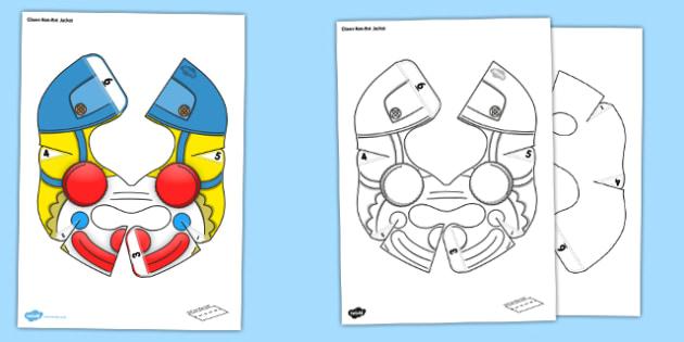 Clown Bee Bot Jacket - beebot, bee bot, bee-bot, jacket, clown, activity