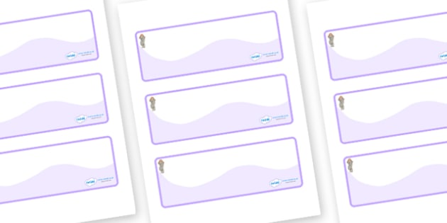 Selkie Themed Editable Drawer-Peg-Name Labels (Colourful) - Themed Classroom Label Templates, Resource Labels, Name Labels, Editable Labels, Drawer Labels, Coat Peg Labels, Peg Label, KS1 Labels, Foundation Labels, Foundation Stage Labels, Teaching L