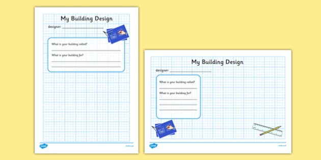 Architects Office Role Play Design a Building Worksheet - architects office, architects, role play, worksheet, role play worksheet, worksheet for role play