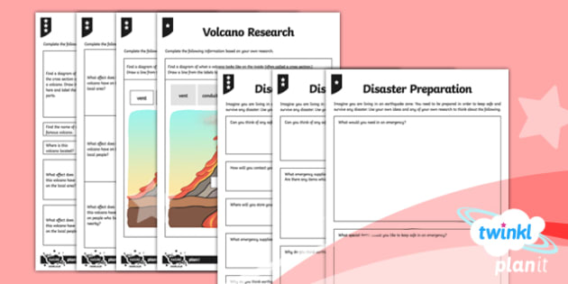 Extreme Earth: Earthquakes and Volcanoes Home Learning Tasks