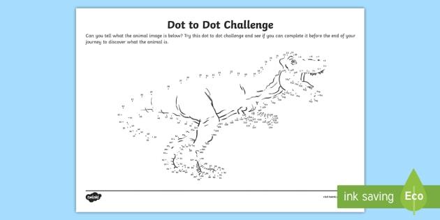 * NEW * Dot To Dot Beyond 100 Worksheet / Worksheet