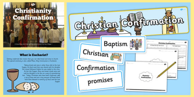 Christian Confirmation Teaching Lesson Pack - christian, pack