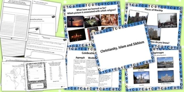 Celebrations Worship and Pilgrimage in Christianity Sikhism Islam
