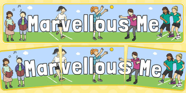 Marvellous Me Display Banner - marvellous me, display banner, display