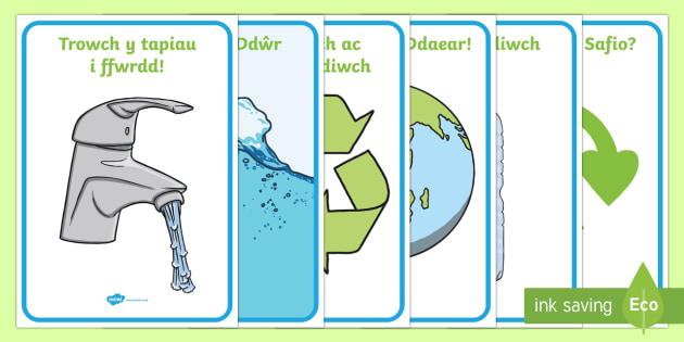 Pecyn Posteri Eco Posteri Arddangos