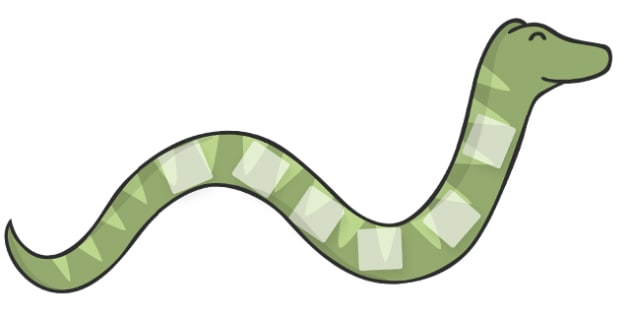Snake Visual Timetable Display  - Visual Timetable, education, home school, child development, children activities, free, kids, special needs, special education, speech and language