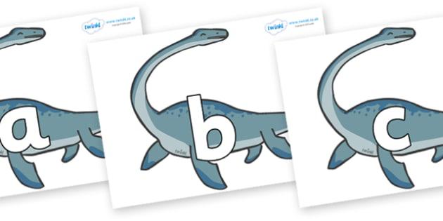 Phoneme Set on Plesiosaur - Phoneme set, phonemes, phoneme, Letters and Sounds, DfES, display, Phase 1, Phase 2, Phase 3, Phase 5, Foundation, Literacy