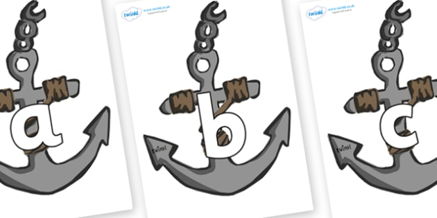 Phoneme Set on Anchors - Phoneme set, phonemes, phoneme, Letters and Sounds, DfES, display, Phase 1, Phase 2, Phase 3, Phase 5, Foundation, Literacy
