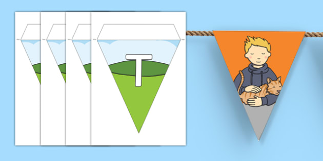 Touch Display Bunting