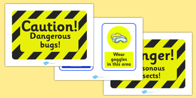 Minibeasts Investigation Lab Role Play Role Play Signs - Minibeasts, minibeast, investigation, lab, role play, signs, sign, knowledge and understanding of the world