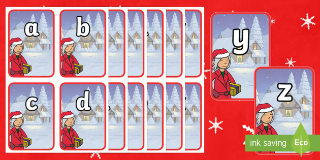 Mrs Claus A Z Flashcards - M&S Christmas, Marks, Spencers, Advert, Mrs Christmas, Mrs Claus
