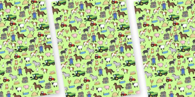 Farm Themed A4 Sheets -  farm, farm theme images, farm display background, farm display, A4 farm sheet, farm sheets, farm theme sheets, farm theme pages