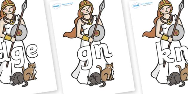 Silent Letters on Viking - Silent Letters, silent letter, letter blend, consonant, consonants, digraph, trigraph, A-Z letters, literacy, alphabet, letters, alternative sounds