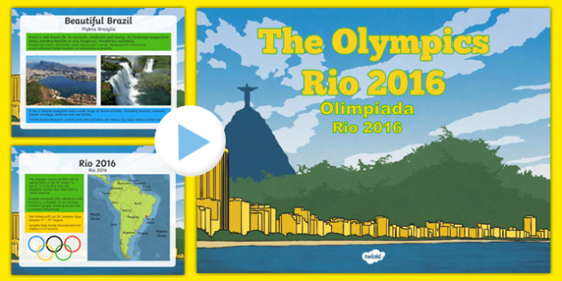KS2 Olympic Games Rio 2016 PowerPoint Polish Translation - polish, Olympics 2016, Brazil, sports, Rio, KS2, Olympics, games, Olympians