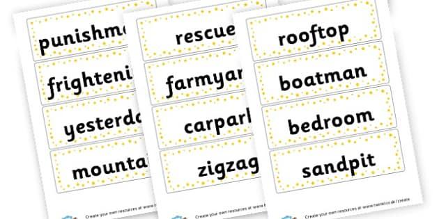 Premise Indicator Words: Words & Vocab Primary Resources