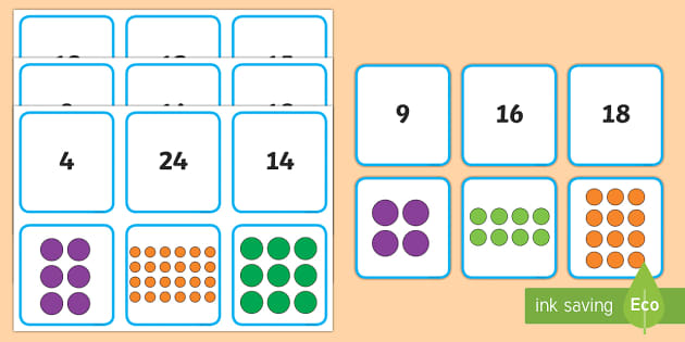 array matching cards year 1 maths mastery. Black Bedroom Furniture Sets. Home Design Ideas